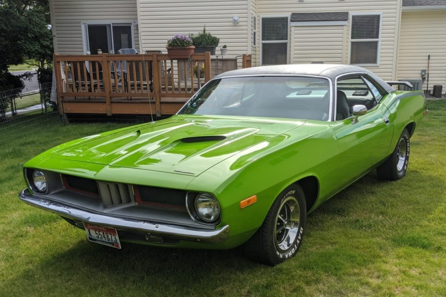 440-Powered 1973 Plymouth Barracuda