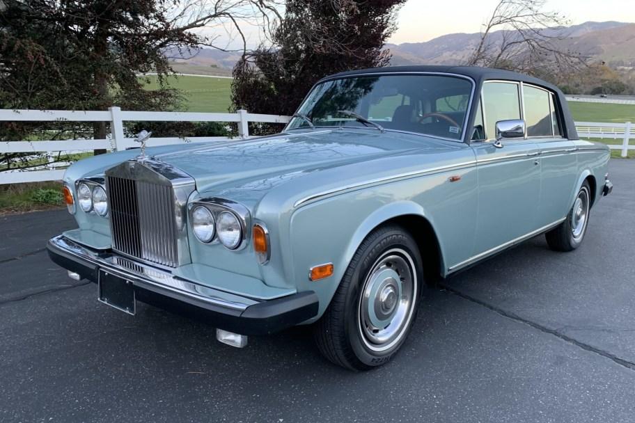 No Reserve: 1975 Rolls-Royce Silver Shadow