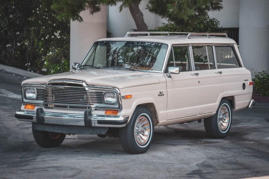 No Reserve: 1984 Jeep Grand Wagoneer