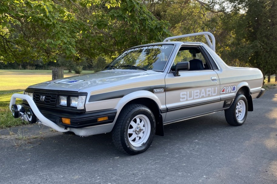 No Reserve: 1984 Subaru BRAT GL 4-Speed