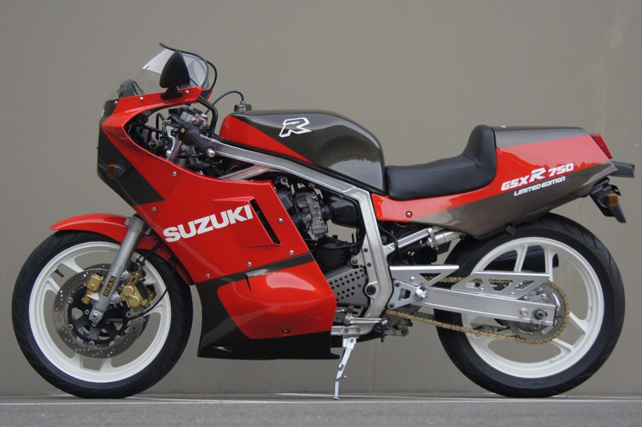 1986 Suzuki GSXR750 Limited Edition