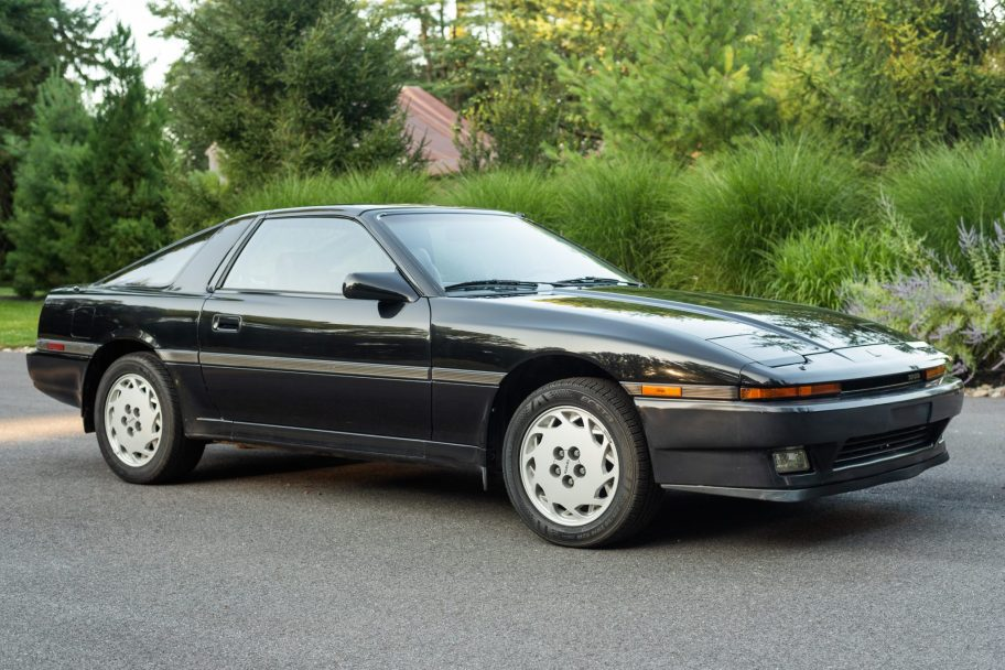 No Reserve: 45k-Mile 1986 Toyota Supra