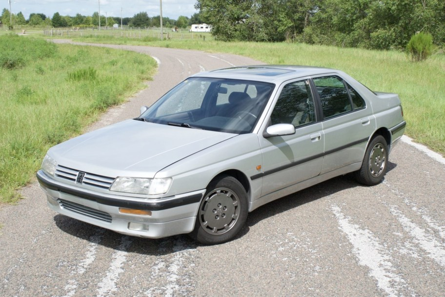 No Reserve: 1990 Peugeot 605 SRi 5-Speed