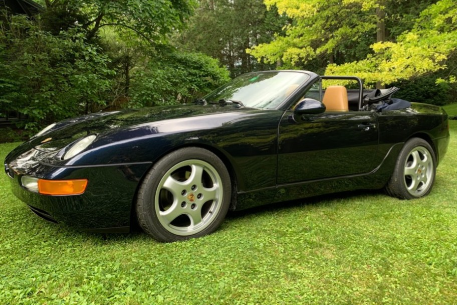 No Reserve: Supercharged 1992 Porsche 968 Cabriolet 6-Speed