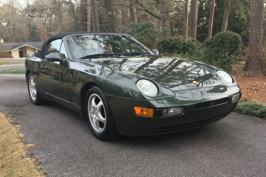 No Reserve: 1992 Porsche 968 Cabriolet 6-Speed