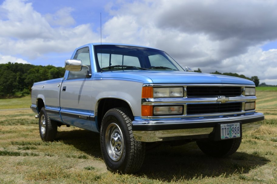 No Reserve: 47k-Mile 1994 Chevrolet C2500 Silverado