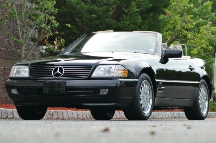 No Reserve: 17k-Mile 1997 Mercedes-Benz SL600