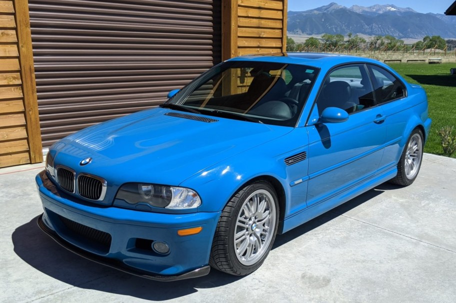 No Reserve: 2001 BMW M3 Coupe 6-Speed