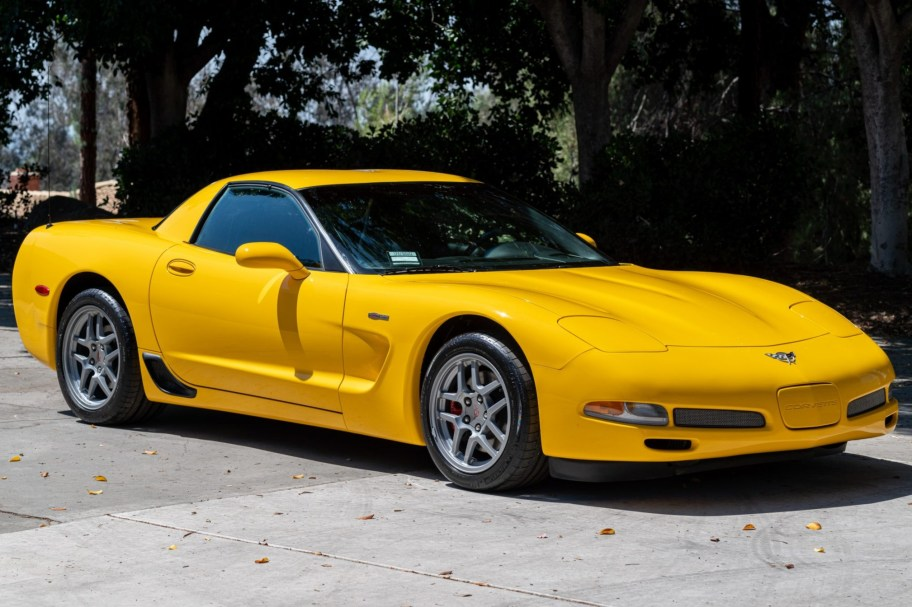 249-Mile 2003 Chevrolet Corvette Z06