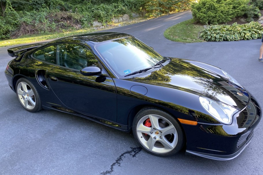 25k-Mile 2003 Porsche 911 Turbo Coupe X50 6-Speed