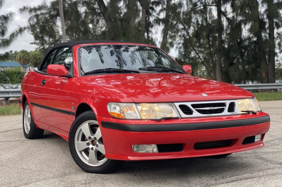 No Reserve: 2003 Saab 9-3 SE Convertible 5-Speed