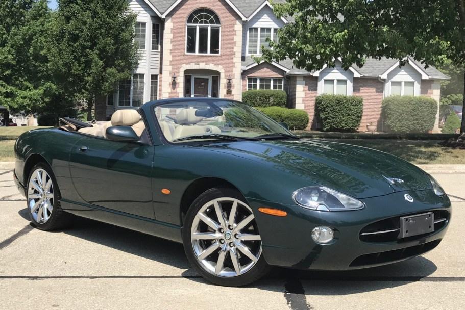 No Reserve: 2006 Jaguar XK8 Convertible