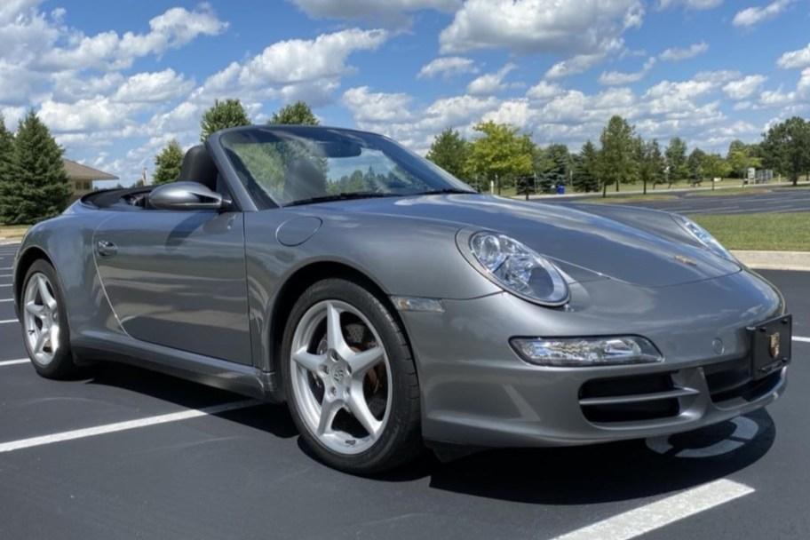 33k-Mile 2006 Porsche 911 Carrera 4 Cabriolet 6-Speed