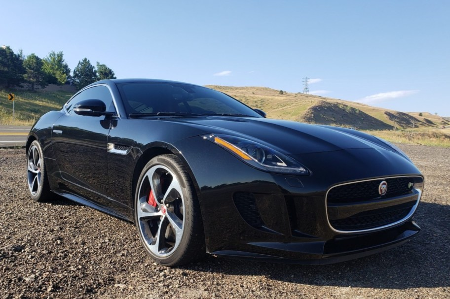 8k-Mile 2015 Jaguar F-Type R Coupe