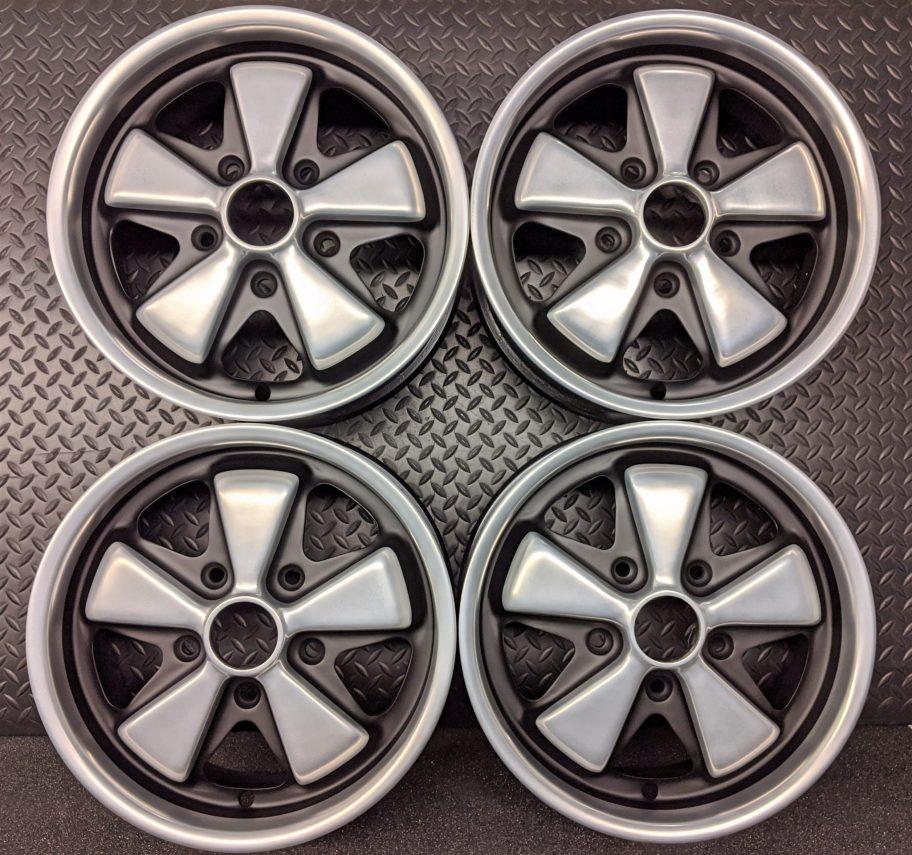 No Reserve: Fuchs 15×6″ Deep Six Wheels for Porsche 911