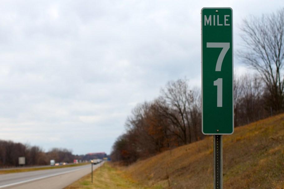 sludgo's Mile Markers: Mile 71