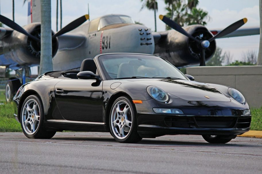 No Reserve: 2005 Porsche 911 Carrera S Cabriolet 6-Speed