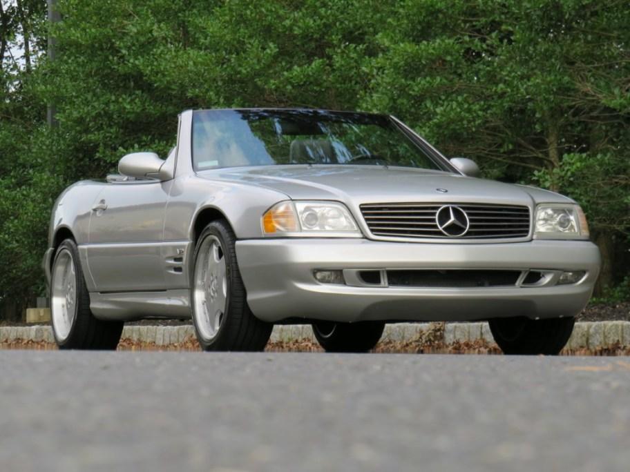 No Reserve: 27k-Mile 2001 Mercedes-Benz SL600