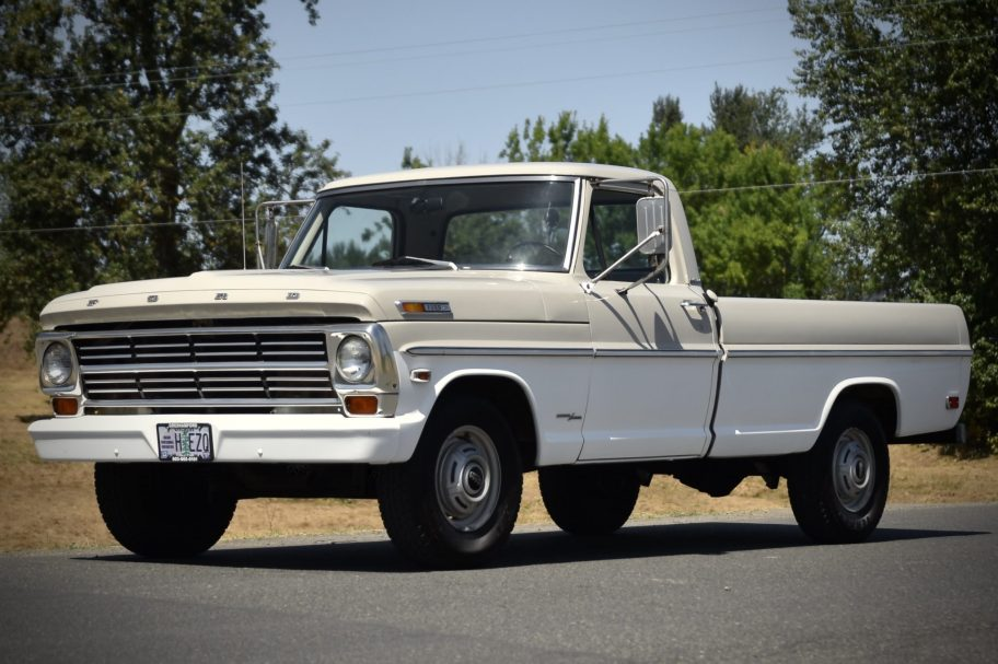 1968 Ford F-250 Camper Special Pickup