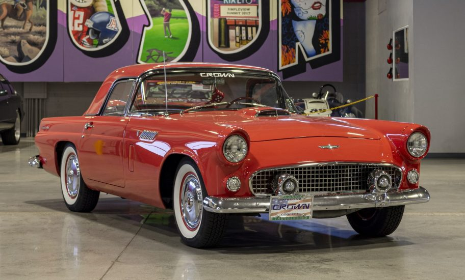 No Reserve: 1956 Ford Thunderbird