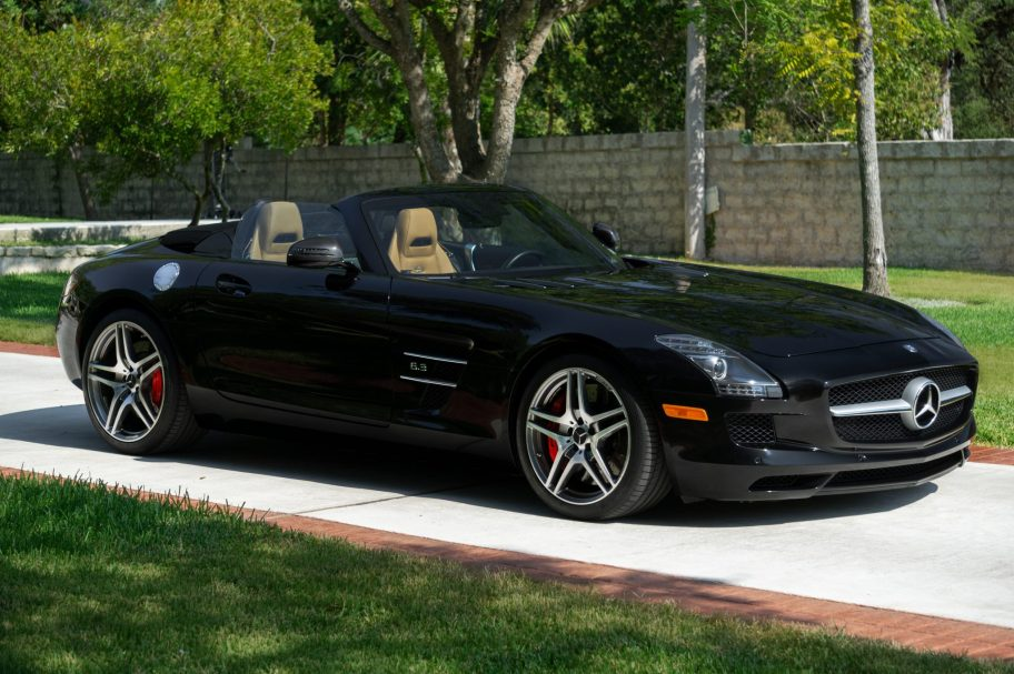 6k-Mile 2012 Mercedes-Benz SLS AMG Roadster