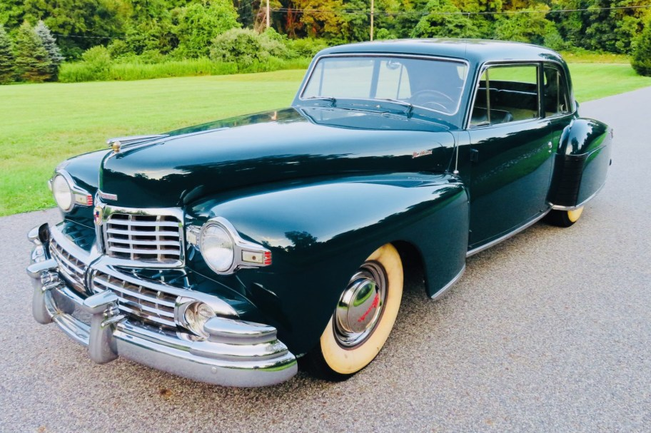 No Reserve: 1948 Lincoln Continental Coupe