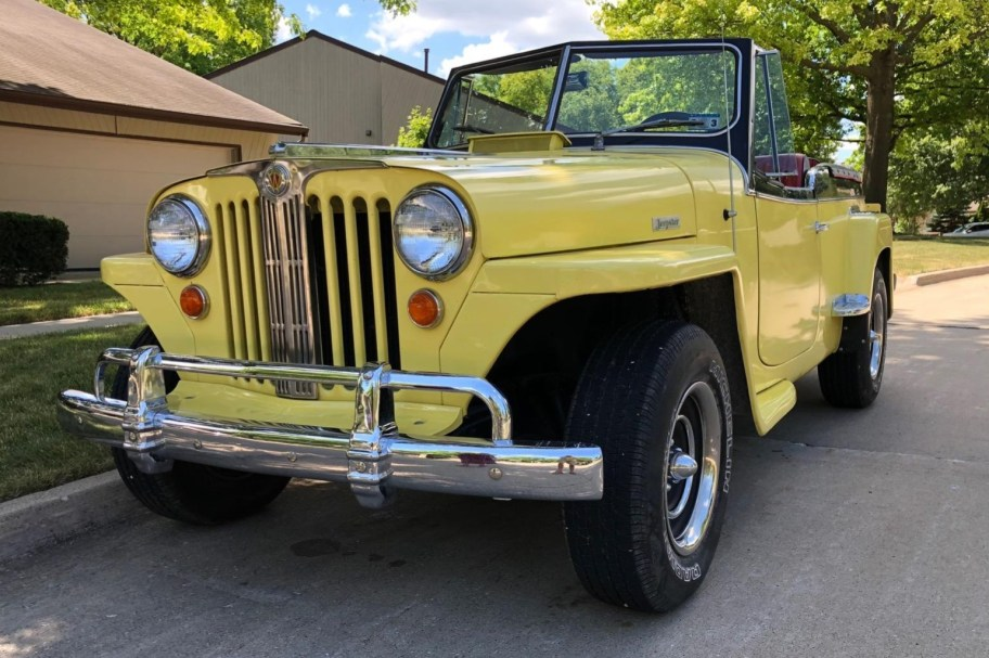 V6-Powered 1948 Willys Jeepster