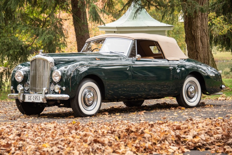1953 Bentley Mk VI Drophead Coupe by Graber