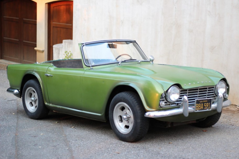 No Reserve: 1964 Triumph TR4 Project