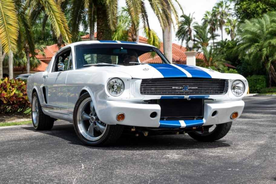 Supercharged Coyote-Powered 1966 Ford Mustang 5-Speed