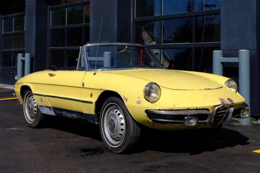 No Reserve: 1967 Alfa Romeo Spider Duetto 1600 Project