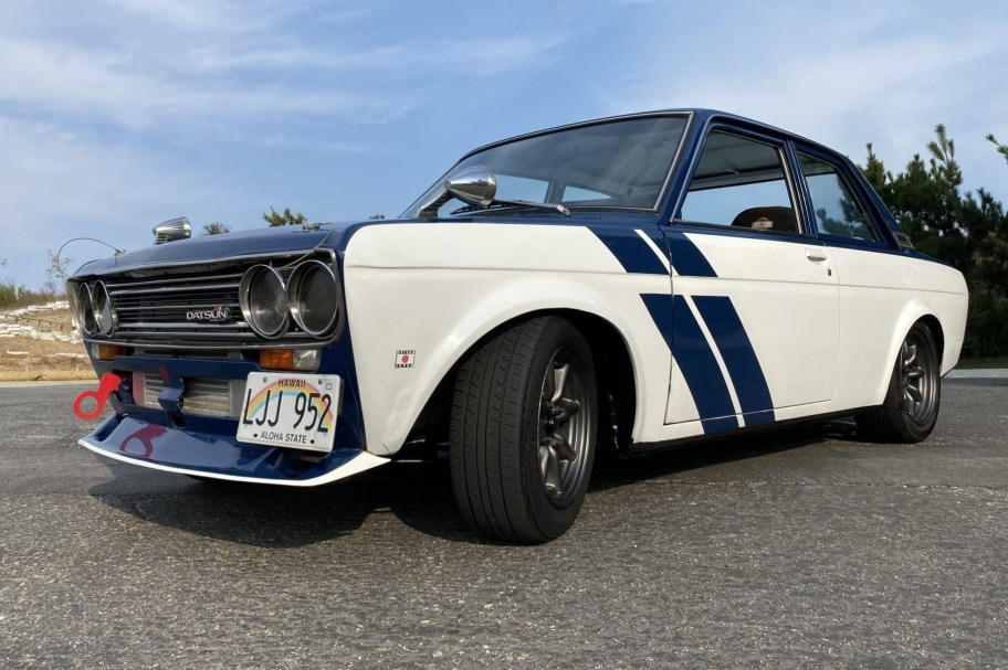SR20DET-Powered 1972 Datsun 510 5-Speed