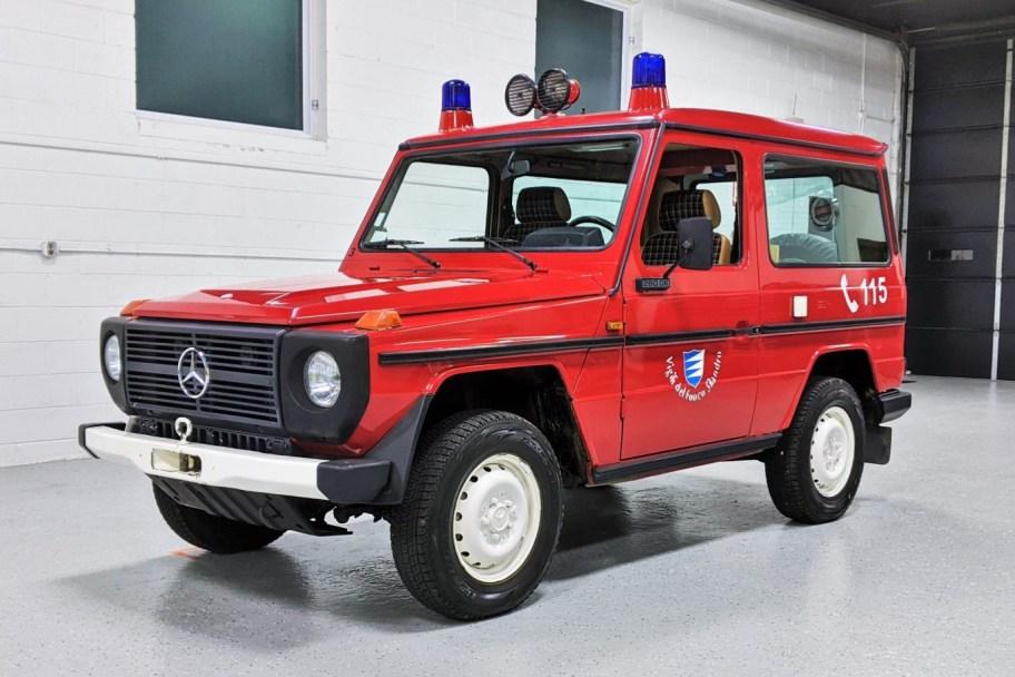 No Reserve: 1983 Mercedes-Benz 280GE 4-Speed