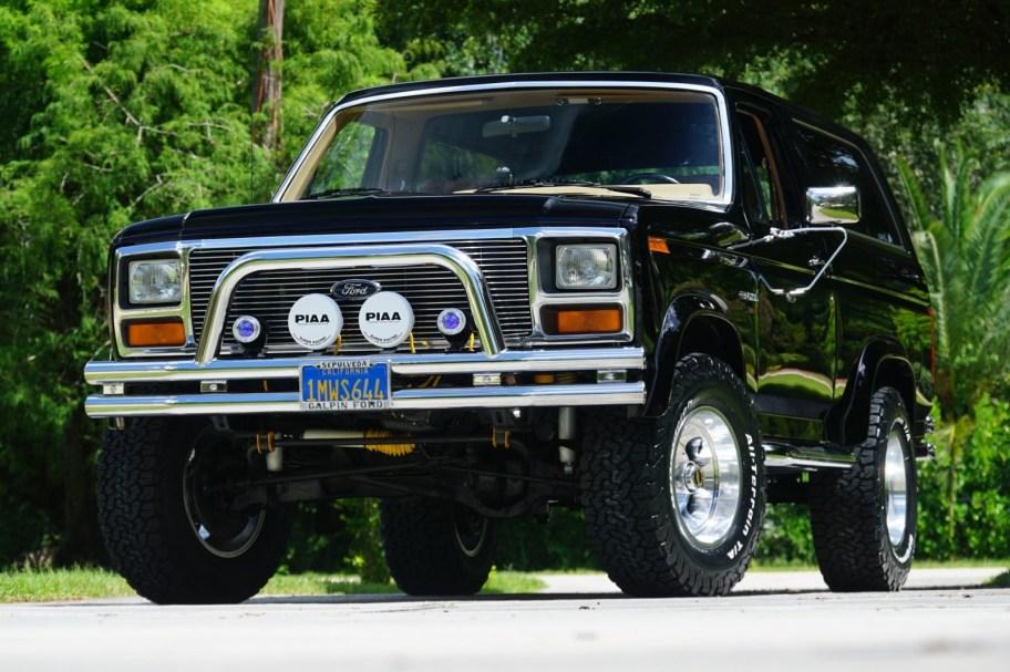 No Reserve: 1985 Ford Bronco XLT