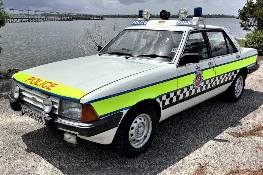 No Reserve: 1985 Ford Granada Police Car