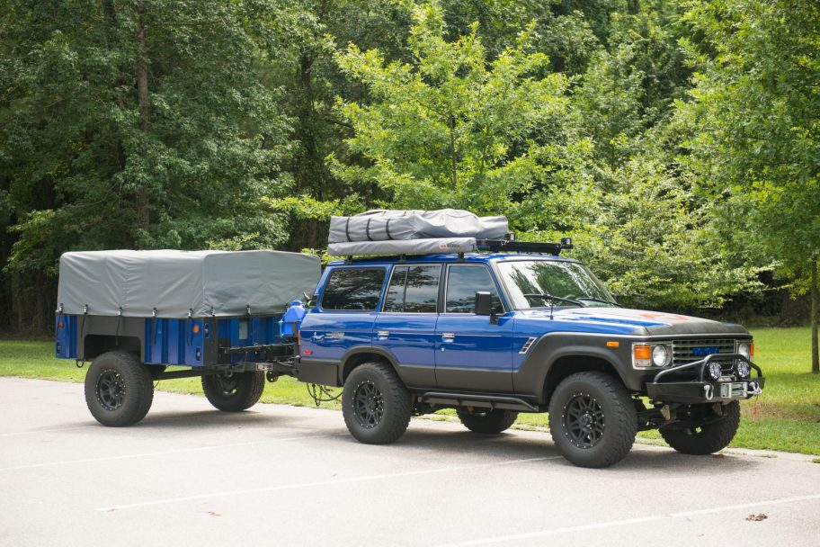 Vortec-Powered 1985 Toyota Land Cruiser FJ60 w/Trailer