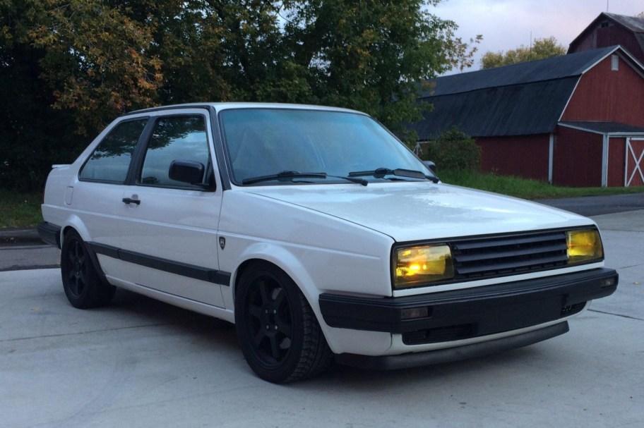 No Reserve: 1.8T-Powered 1989 Volkswagen Jetta 2-Door