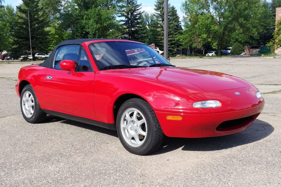 No Reserve: 38k-Mile 1994 Mazda Miata