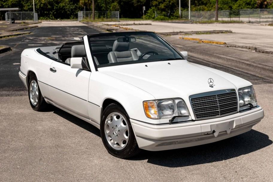 No Reserve: 27k-Mile 1995 Mercedes-Benz E320 Cabriolet