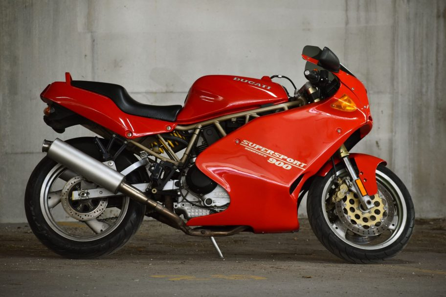 No Reserve: 1996 Ducati 900SS Supersport