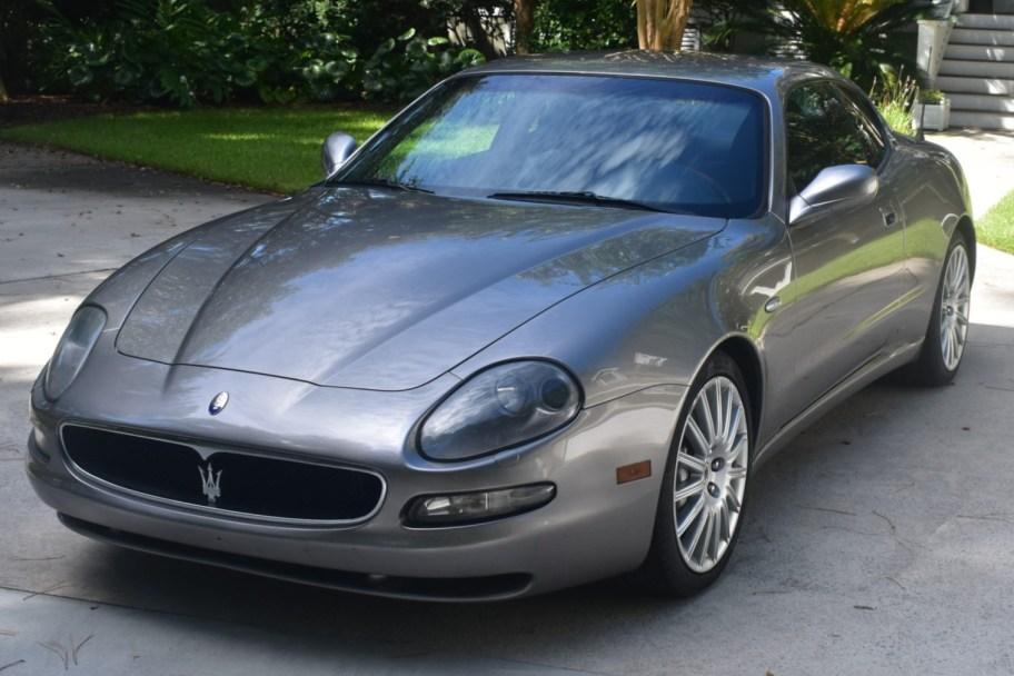 35k-Mile 2002 Maserati Coupe Cambiocorsa