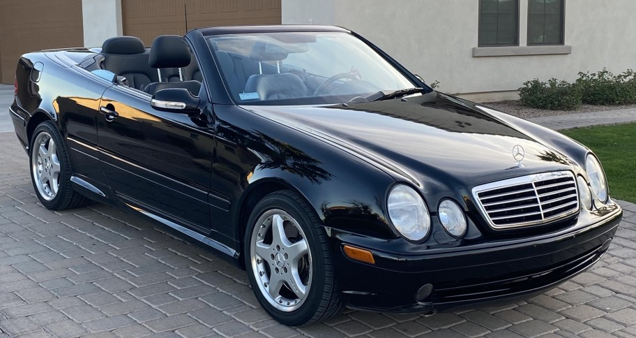No Reserve: 2002 Mercedes-Benz CLK55 AMG Convertible