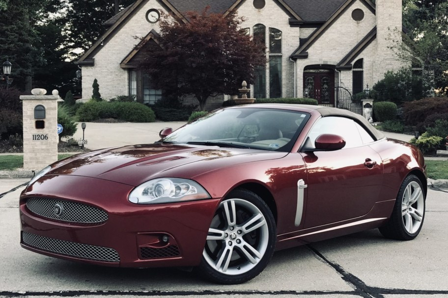 No Reserve: 2007 Jaguar XKR Convertible