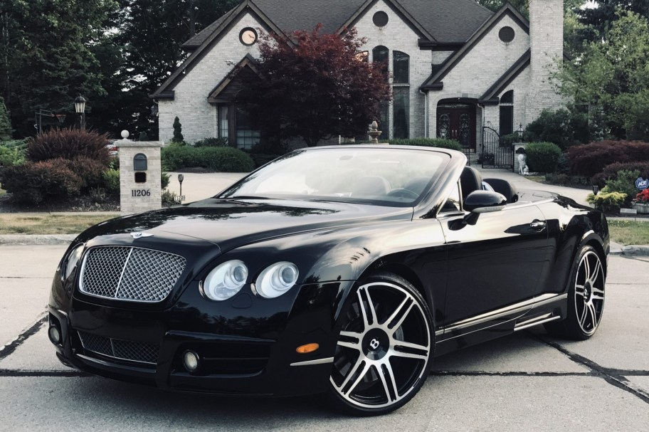 No Reserve: Modified 2008 Bentley Continental GTC Mulliner
