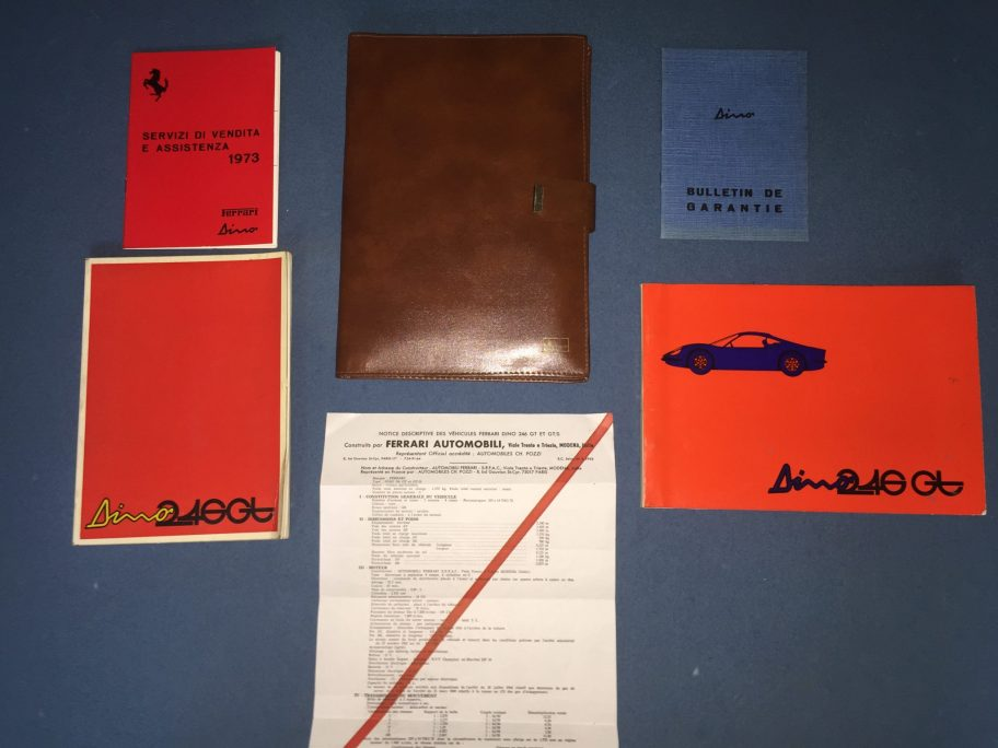 No Reserve: Ferrari Dino 246 Manual Set