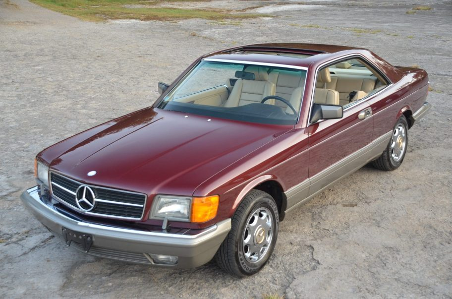 19k-Mile 1988 Mercedes-Benz 560SEC