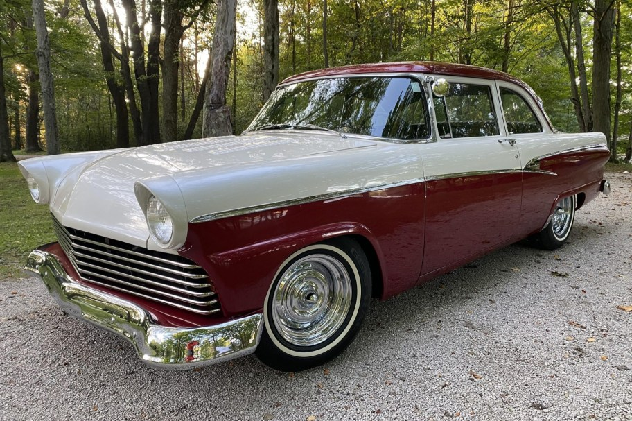 No Reserve: 1956 Ford Customline 2-Door Sedan