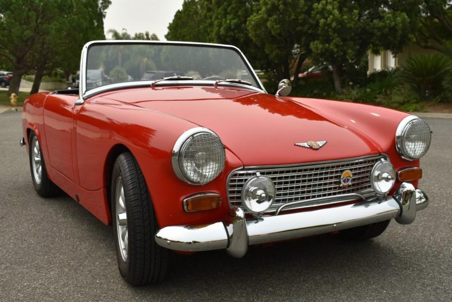 Supercharged 1964 Austin-Healey Sprite Mk II