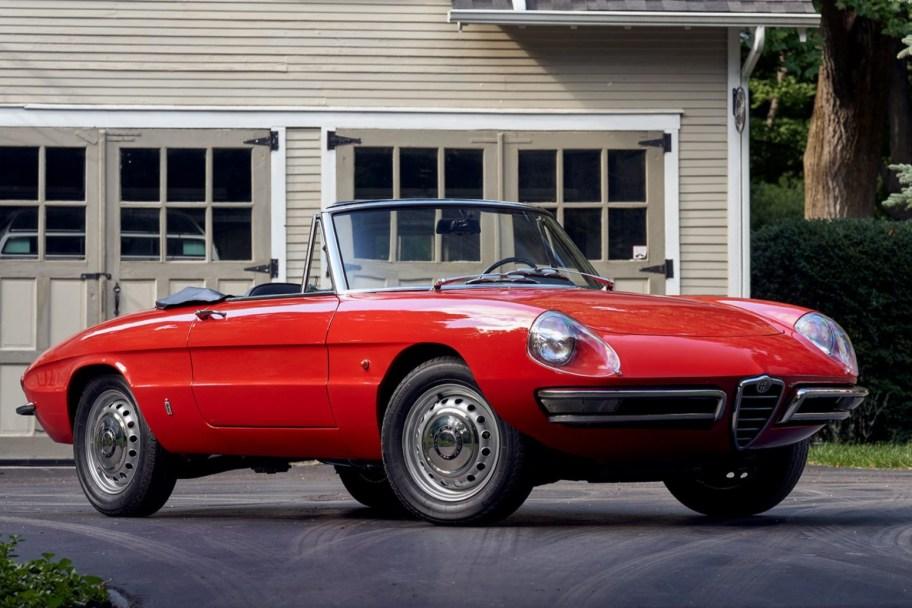 Restored 1967 Alfa Romeo Spider Duetto