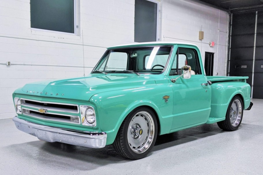 350-Powered 1967 Chevrolet C10 Stepside Pickup